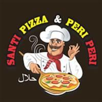 Santi Pizza logo