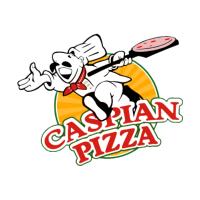 Caspian Pizza B14 logo