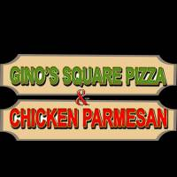 Gino's Square Pizza and Chicken Parmesan logo