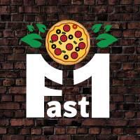 Fast 1 Pizza logo